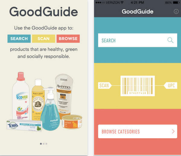 green app - GoodGuide