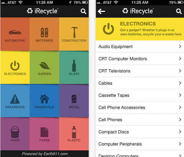 Green app-iRecycle