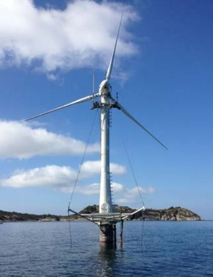 NREL Collaborates with SWAY on Offshore Wind Demonstration